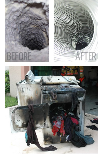 Dryer Before and After